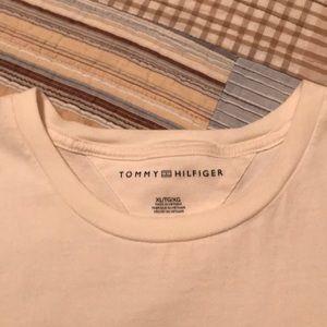 Tommy Hilfger XL Men short sleeve off-wht T-shirt